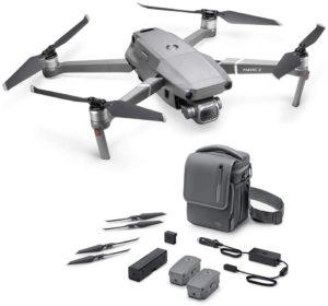 """DJI Mavic 2 Pro Fly More Combo - Kit Drone (Caméra Hasselblad, Video 4K HDR, Capteur CMOS de 1"""" et 20 Mpx, 3 Batteries, Chargeur de batteries, 10 hélices etc.)"""