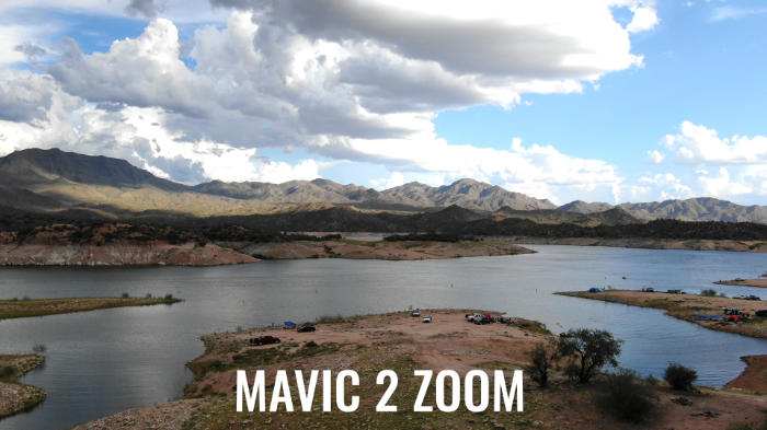test de couleur Mavic 2 Zoom
