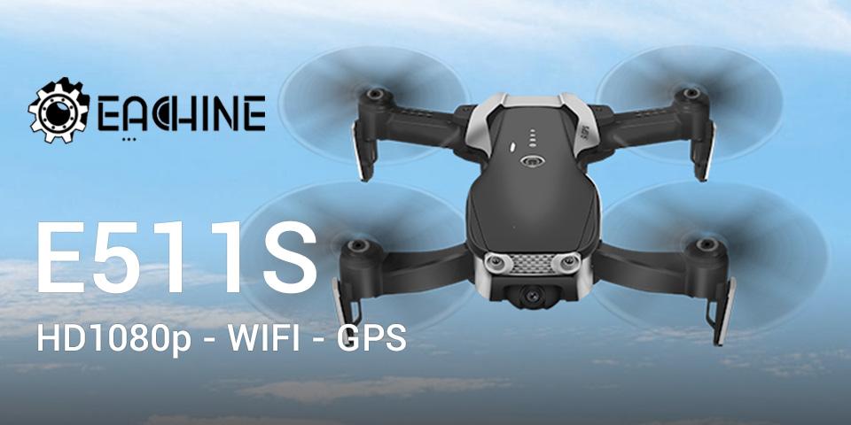 test et avis du drone eachine E511S