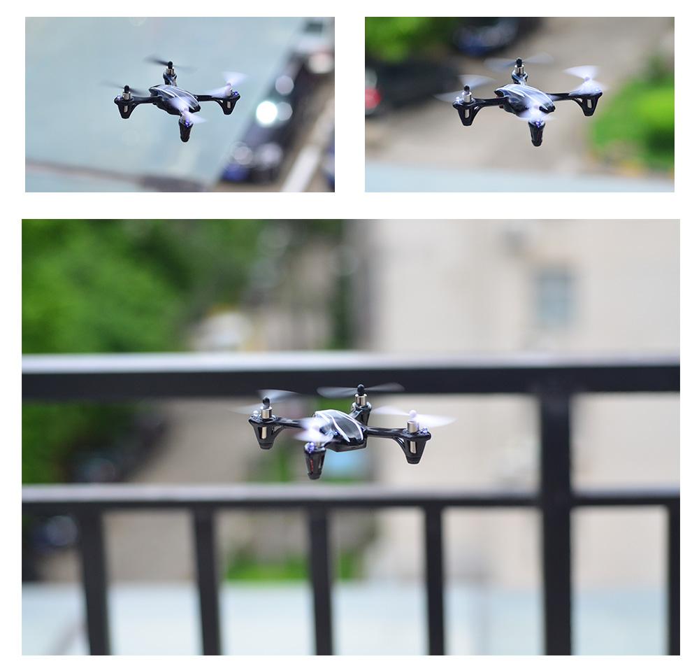 X4 H107 en vol