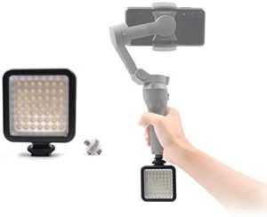 lumière appoint osmo mobile 3 dji