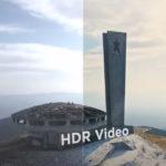 mavic air 2 HDR