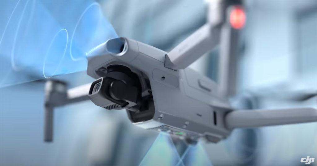 DJI mavic air 2 capteurs