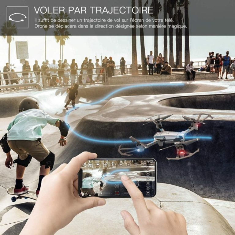 drone snaptain a15 mode trajectoire