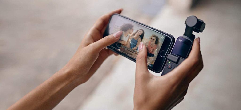 osmo pocket smartphone