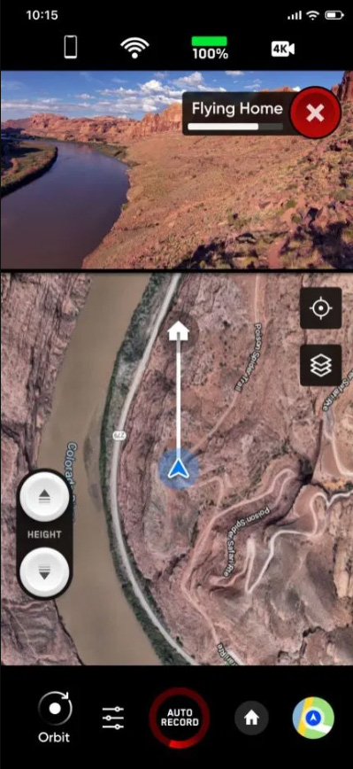 skydio 2 android vue 3