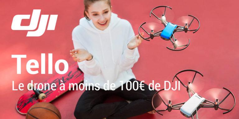 dji tello test du drone a moins de 100 euros