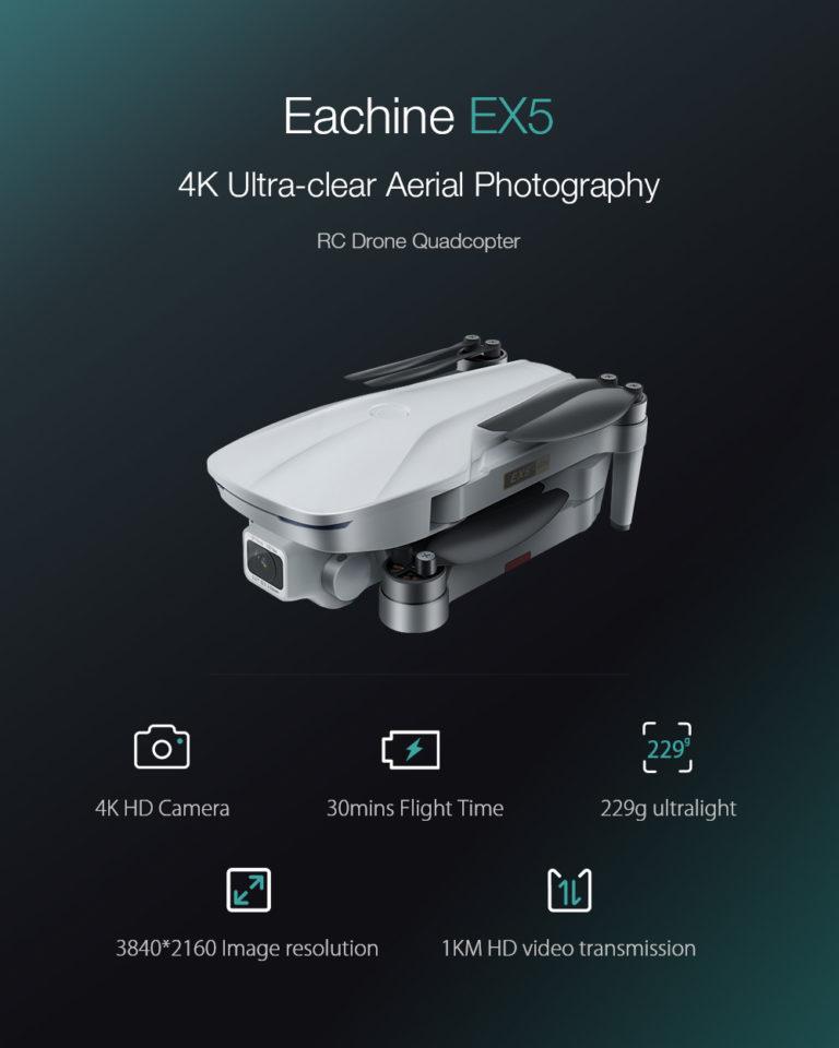 eachine EX5 test revue