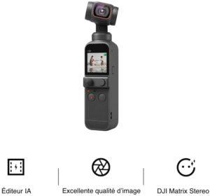 DJI Pocket 2 caractéristique