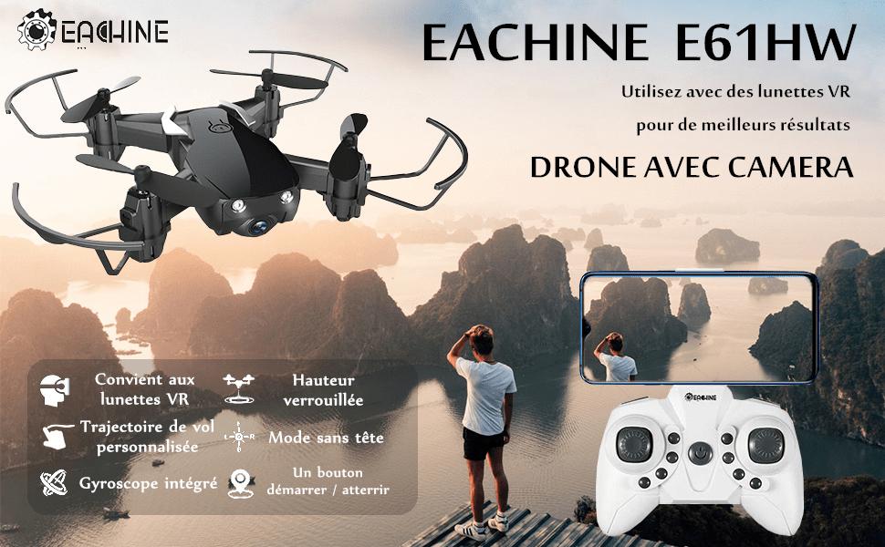 Eachine E61HW mini drone pas cher