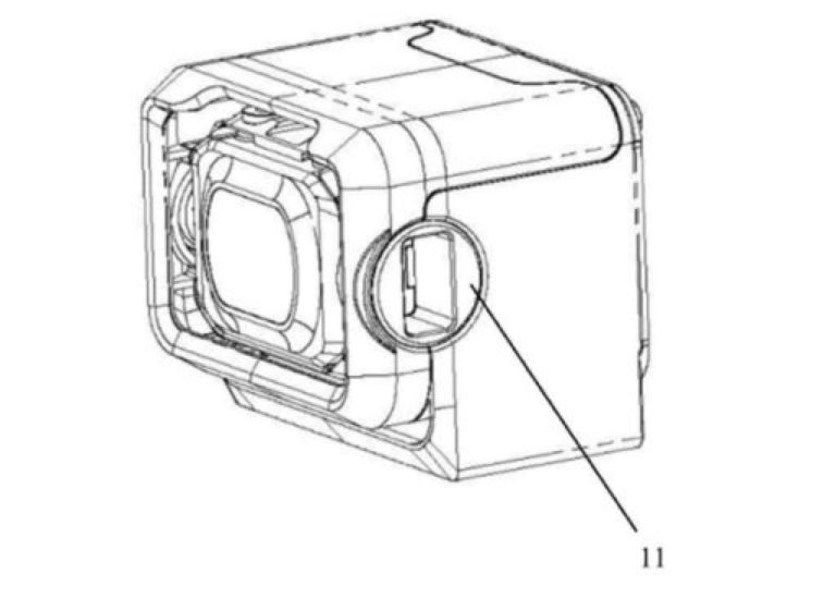 DJI FPV brevet camera