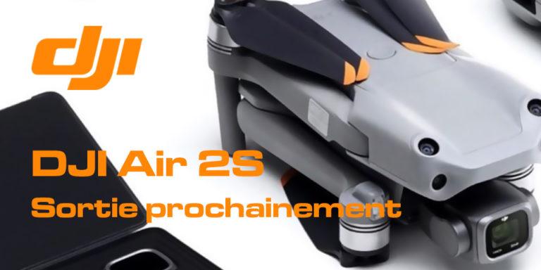 DJI Air 2S date de sortie prochainement