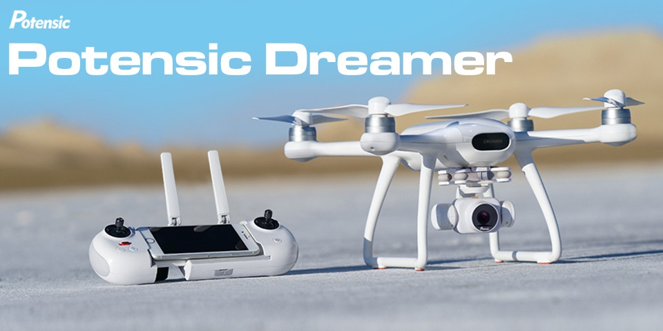 Teste et avis du drone Potensic dreamer 4K