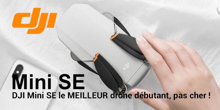 dji mini SE drone débutant pas cher pour noel